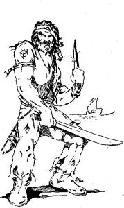 Drager og Dæmoner - Pirat